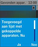 Nokia 113 - Bluetooth - Headset, carkit verbinding - Stap 10
