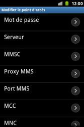 Samsung S7500 Galaxy Ace Plus - MMS - configuration manuelle - Étape 11