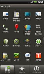 HTC S510b Rhyme - Network - Usage across the border - Step 3