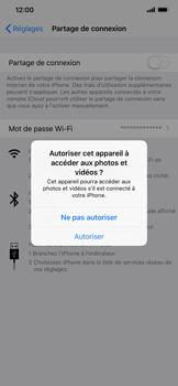 Apple iPhone XS Max - Internet et connexion - Utiliser le mode modem par USB - Étape 5