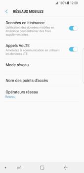 Samsung Galaxy S8 - Android Oreo - Internet - Désactiver du roaming de données - Étape 6
