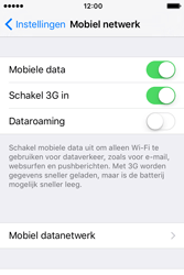 Apple iPhone 4 S iOS 9 - Internet - Aan- of uitzetten - Stap 4