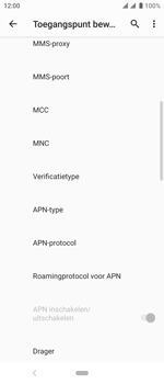 Sony xperia-10-I4113 - Internet - Handmatig instellen - Stap 16