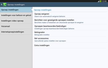 Samsung P5220 Galaxy Tab 3 10-1 LTE - Voicemail - handmatig instellen - Stap 6
