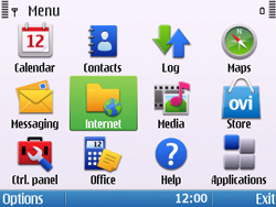 Nokia E5-00 - Internet - Internet browsing - Step 2
