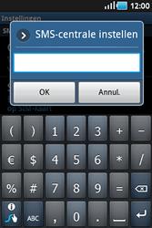 Samsung S5830 Galaxy Ace - SMS - handmatig instellen - Stap 5