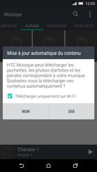HTC One M9 - Photos, vidéos, musique - Ecouter de la musique - Étape 5
