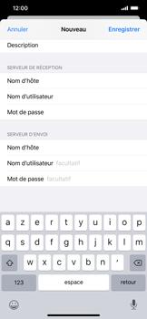 Apple iPhone XR - iOS 13 - E-mail - Configuration manuelle - Étape 14