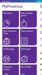Nokia Lumia 830 - Applications - MyProximus - Étape 13