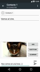 Motorola Moto G 3rd Gen. (2015) (XT1541) - Mensajería - Escribir y enviar un mensaje multimedia - Paso 17