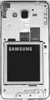 Samsung Galaxy J2 Prime - Primeiros passos - Como inserir o chip da Nextel no seu celular - Etapa 3