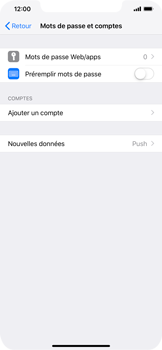 Apple iPhone XR - E-mail - Configuration manuelle (outlook) - Étape 4