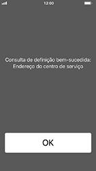 Apple iPhone SE - iOS 12 - SMS - Como configurar o centro de mensagens -  4