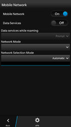 BlackBerry Z30 - Internet - Enable or disable - Step 7