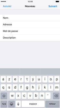 Apple Apple iPhone 6 Plus iOS 10 - E-mail - Configuration manuelle - Étape 10