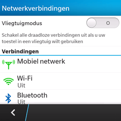 BlackBerry Q5 - WiFi en Bluetooth - Handmatig instellen - Stap 5