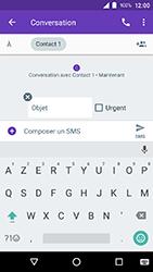 Crosscall Action X3 - Contact, Appels, SMS/MMS - Envoyer un MMS - Étape 8