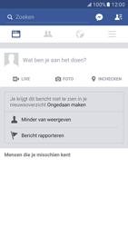Samsung Galaxy S7 - Privacy - Privacy instellingen van Facebook aanpassen - Stap 4