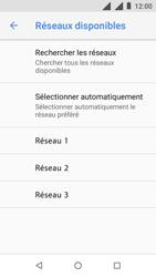 Nokia 1 - Réseau - Sélection manuelle du réseau - Étape 11