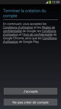 Samsung Galaxy Note 3 - Premiers pas - Créer un compte - Étape 22