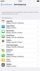 Apple Apple iPhone 7 - iOS features - Bewerk meldingen - Stap 4