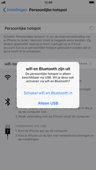 Apple iPhone 6 Plus iOS 11 - WiFi - WiFi hotspot instellen - Stap 7