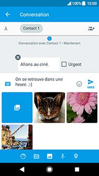 Sony Xperia XA2 Ultra - Contact, Appels, SMS/MMS - Envoyer un MMS - Étape 12