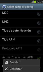Samsung Galaxy S3 Mini - Mensajería - Configurar el equipo para mensajes multimedia - Paso 13
