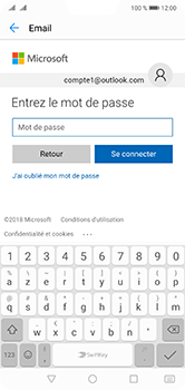 Huawei P20 Lite - E-mail - 032c. Email wizard - Outlook - Étape 8