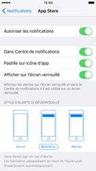 Apple iPhone 6s iOS 10 - iOS features - Personnaliser les notifications - Étape 7