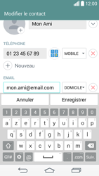 LG D855 G3 - Contact, Appels, SMS/MMS - Ajouter un contact - Étape 10