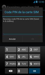 Bouygues Telecom Bs 402 - Sécuriser votre mobile - Personnaliser le code PIN de votre carte SIM - Étape 9