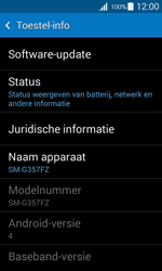 Samsung G357 Galaxy Ace 4 - Software update - update installeren zonder PC - Stap 5
