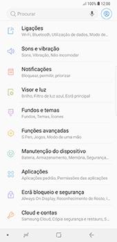 Samsung Galaxy Note 8 - Android Oreo - Internet no telemóvel - Como ativar os dados móveis -  4