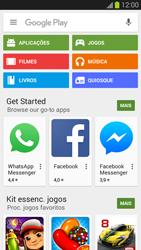 Samsung Galaxy S3 - Aplicações - Como pesquisar e instalar aplicações -  4