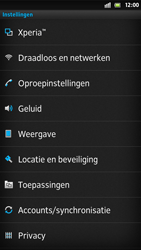 Sony LT26i Xperia S - Voicemail - Handmatig instellen - Stap 4