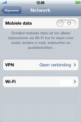 Apple iPhone 4 S - Internet - Mobiele data uitschakelen - Stap 5