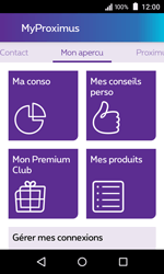 Acer Liquid Z220 - Applications - MyProximus - Étape 13