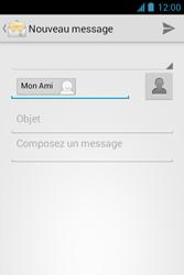 Bouygues Telecom Bs 351 - E-mails - Envoyer un e-mail - Étape 8