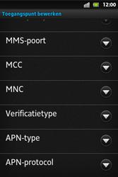 Sony ST27i Xperia Go - Internet - Handmatig instellen - Stap 13