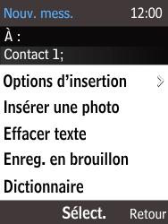 Nokia 216 - Mms - Envoi d