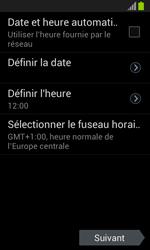 Samsung Galaxy S3 Mini - Premiers pas - Créer un compte - Étape 5