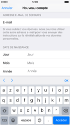 Apple iPhone 6 iOS 9 - Applications - Créer un compte - Étape 15
