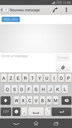 Sony Xpéria T3 - Contact, Appels, SMS/MMS - Envoyer un SMS - Étape 7