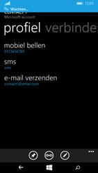 Nokia Lumia 735 4G (Type RM-1038) - Contacten en data - Contacten overzetten via Bluetooth - Stap 10