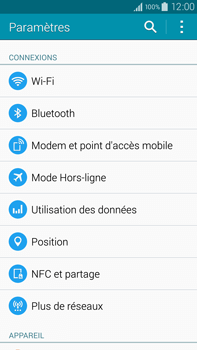 Samsung N910F Galaxy Note 4 - Internet - Activer ou désactiver - Étape 4
