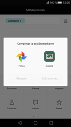 Huawei P8 - Mensajería - Escribir y enviar un mensaje multimedia - Paso 13