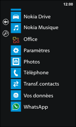 Nokia Lumia 800 - Applications - Supprimer une application - Étape 3