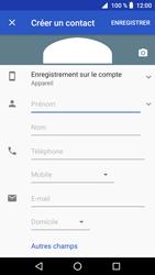 Crosscall Core X3 - Contact, Appels, SMS/MMS - Ajouter un contact - Étape 6
