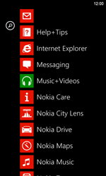 Nokia Lumia 920 LTE - E-mail - Sending emails - Step 3